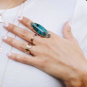 Zenned Out Jewelry Turquoise Ring - Size 7